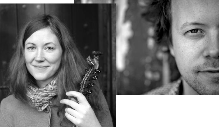 Laura Ellestad og Kim Myhr